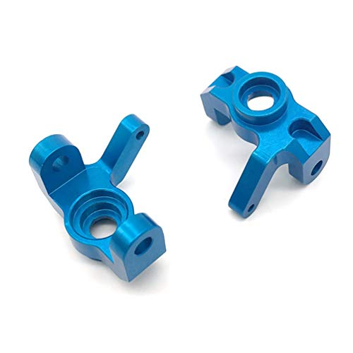 Wenwenzui for Wltoys 12428 12423 RC Car Upgrade Metal Part Metal Left and Right Turn Cup Blue