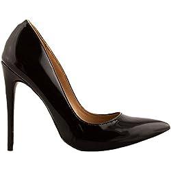 Toocool , Damen Pumps, Schwarz - schwarz - Größe: 40