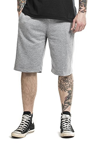 Urban Classics Light Fleece Sweatshorts Grey