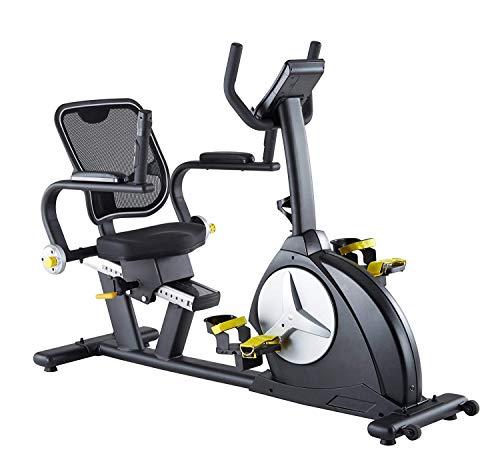Reha Ergometer Bike MAXXUS 6.1R-FIT - Heimtrainer In Studioqualität Als Trainingsgerät Für Zuhause – Liegeergometer Mit Extra Tiefem Einstieg, Bequemer Sitzposition – Herzfrequenzprogramm*