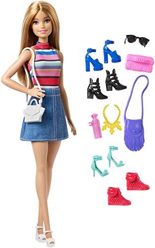 Barbie Doll or Shoe Blonde, Multi Color