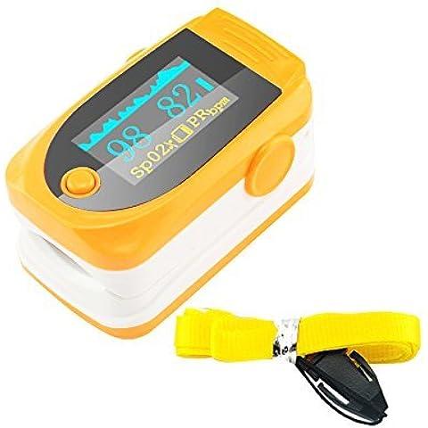 Denshine (TM)–Pulsossimetro con audio, allarme e impulso
