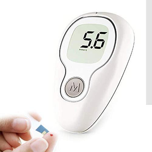 DHHZRKJ Blutzuckermesssystem Diabetes-Test-Kit EIN-Knopf-Blutzuckermessgerät für Diabetiker