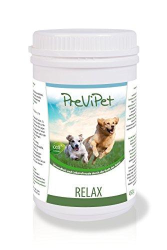 Previpet Relax (Pulver) für Hunde 450g – zur Unterstützung der Entspannung und des Wohlbefindens. Wirkt vorbeugend und lindernd bei Stress, Nervosität oder Angst. Beruhigt Ihren Hund bei innerer Unruhe oder Unsicherheit. - 2
