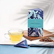 Ausum Tea Organic Jasmine & Echinacea (Teabags) | Herbal Tea for Relaxation and Heart he