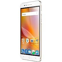 """ZTE Blade A610 - Smartphone libre de 5"""" (4G, MediaTek MT6735, 2 GB de RAM, almacenamiento interno de 16 GB, Bluetooth, WiFi, Android), color dorado"""