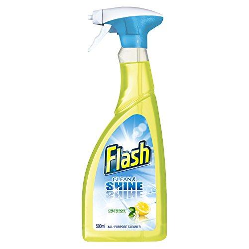 flash-clean-and-shine-crisp-lemons-all-purpose-cleaner-spray-500-ml-pack-of-10