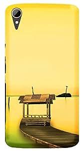 TrilMil Printed Designer Mobile Case Back Cover For HTC Desire 828