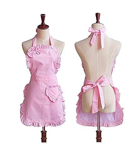 Waitress Costume Uk - étanche Rose mignon Filles Bowknot Lady de