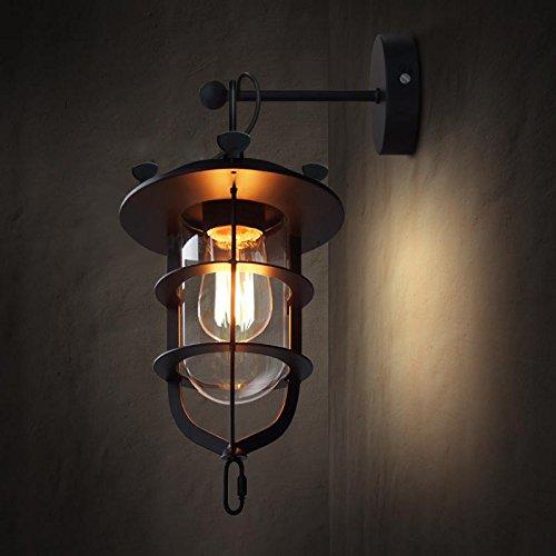 GOUD Lampada da parete Retrò parete luce Amercian LOFT creativo Wall Sconce, corridoio di navata bar balcone studio Lampada da
