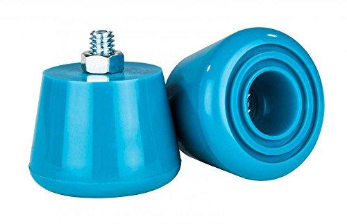 Rookie Stopper für Rollschuhe 2er-Pack blau blau, standard