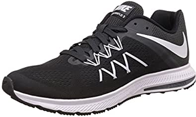 ... Nike Mens Air Zoom Winflo 3 Running Shoe Black White-Anthracite 13 D(M)  US 3d58afac8