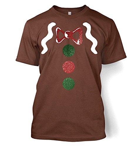 Kids Clothing By Big Mouth Herren Blusen T-Shirt Braun - Chestnut