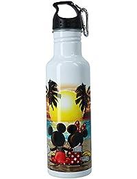Disney Mickey und Minnie Maus Wasserflasche, Aluminium, Sonnenuntergang