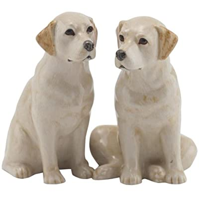 Quail Ceramics - Yellow Labrador Salt And Pepper Pots from Quail Ceramics