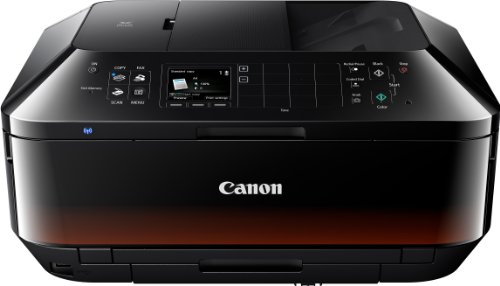 Canon Pixma MX925 All-in-One Farbtintenstrahl-Multifunktionsgerät (Drucker, Scanner, Kopierer, Fax, USB, WLAN, LAN, Apple AirPrint) schwarz - Canon Pixma Office All In One