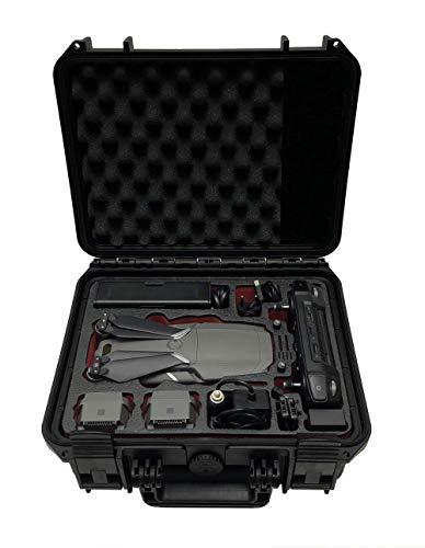 Profi Transportkoffer Travel Edition für DJI Mavic 2 Pro und Zoom mit Platz für bis zu 4 Akkus, Fly More Kit, Smart oder Standard Controller und viel Zubehör | wasserdichter Outdoor Case IP67 Zoom-controller Controller