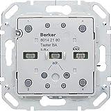 Hager 80142180–Schieber KNX mit integriertem BCU, 2Phasen, S/B