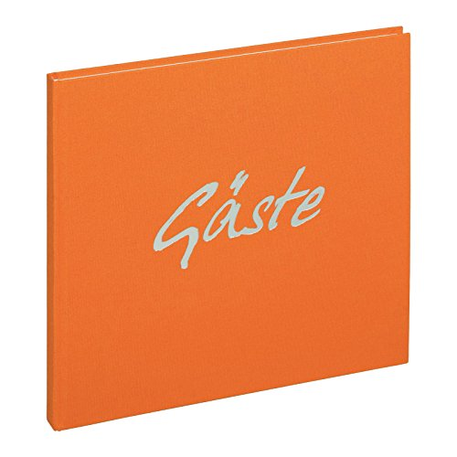 Pagna 30923-09 Gästebuch 245 x 245 mm, orange 180S