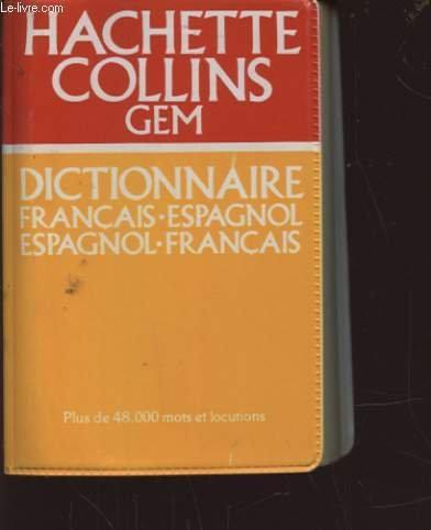 Dictionnaire bilingue : français/espagnol - espagnol/français
