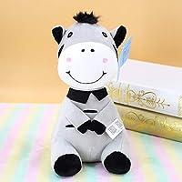 Atmny Zebra Plush Toy Doll Doll Doll Doll Smothes Birthday Party Child Friend Comfortpillow 25cm