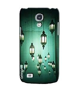 Omnam Lamp Shades Hanging Effect Printed Designer Back Case Samsung Galaxy S4
