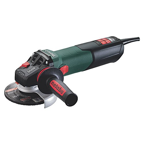 Metabo WEV 15-125 Quick Inox - mini amoladora 1500 W, disco 125 mm, especial INOX