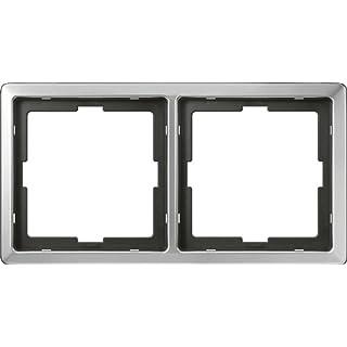 Merten 481246 ARTEC-Rahmen, 2fach, Edelstahl