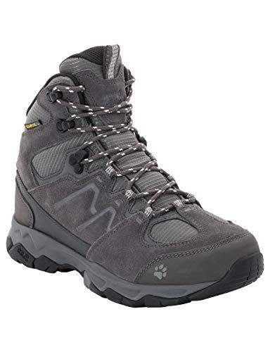 Jack Wolfskin Damen MTN Attack 6 Texapore Trekking- & Wanderstiefel, Grau (Grey Haze 4650), 40 EU (Globe Schuhe Größe 6)