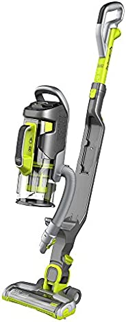 Black+Decker Multipower Allergy Cordless 2-in-1 Stick Vacuum with Removeable Hand Vacuum, Green - CUA525BHA-GB
