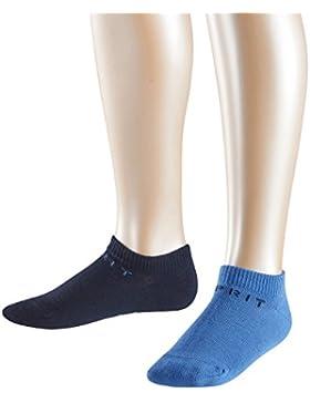 Esprit Foot Logo, Calcetines Cortos para Niños (Pack de 2)