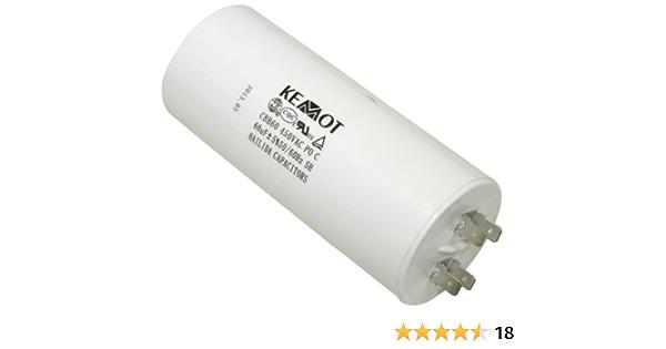 Aerzetix Kondensator 60µf 450v Elektronik