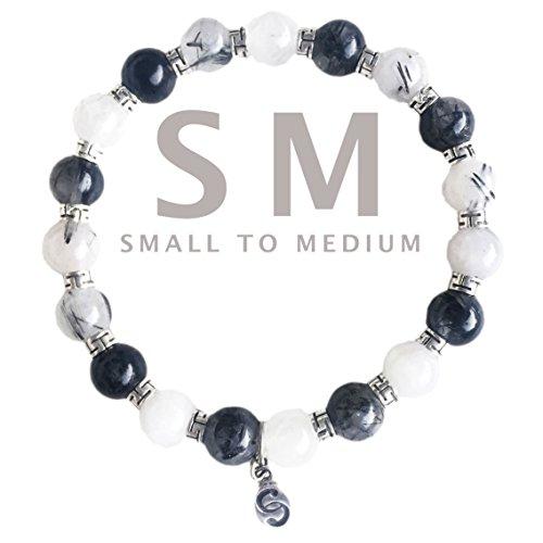 apoccas-semi-precioso-cristal-pulsera-elastica-mycen-turmalina-cuarzo-plata-esterlina-925-claro-gris