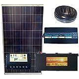 Kit solaire pour site isolé 12V 150W 606Wh/jour