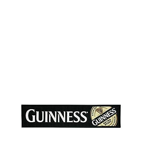 Guinness étiquette en PVC Tapis de bar, Taille