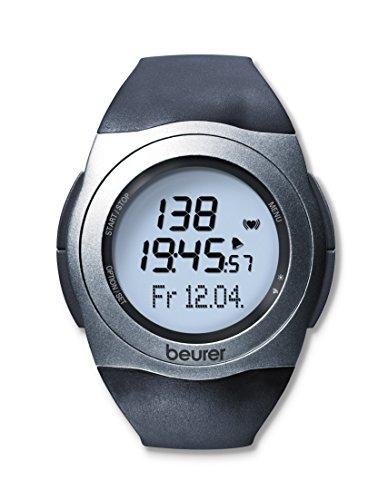 Beurer PM 25 Pulsuhr, mit Brustgurt, Trainingsbereich, Kalorienverbrauch, Fettverbrennung