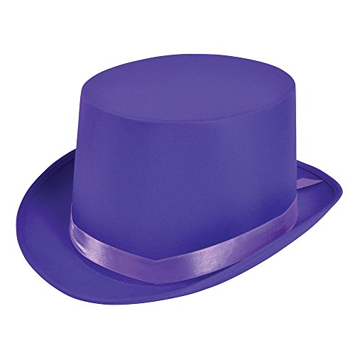 Bristol Novelty BH500Top Hat, Einheitsgröße, Violett