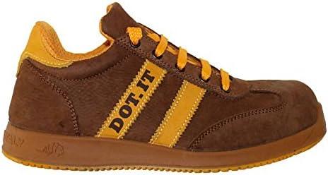 Zapatos de seguridad para hombre LEWER antideslizante mod. AP64 S3 linea DOT.IT - 42 EU