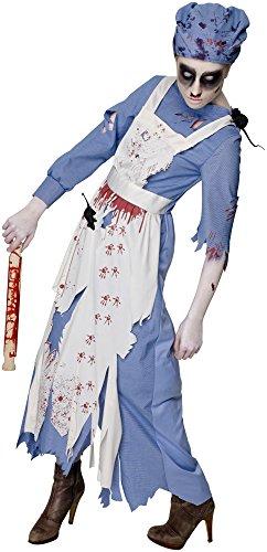 Rubie 's 810505Rubie 's Offizielles Frau ratgore Halloween Maid Zombie Erwachsene Kostüm Damen Medium