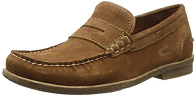 camel active Garda 13 349.13.01, Herren Slipper, Braun (brandy), EU 47(UK 12)(US 13)