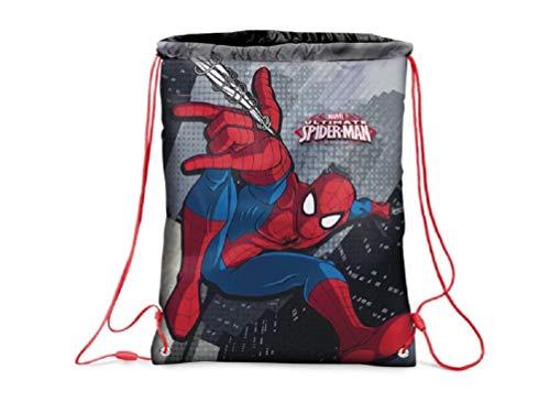 Star Marvel Spider-Man Turn Bolsa Bolsa para Zapatos Funda