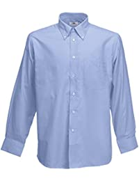 Click Workwear Classic Shirt Long Sleeve Blue 16 CSB16
