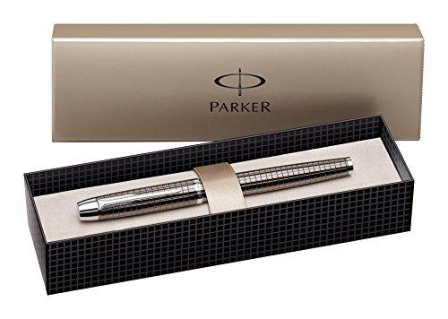 Parker I.M. Premium - Pluma estilográfica con plumín de acero inoxidable