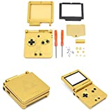 GBA SP Game Boy Advance SP Ersatz Gehäuse Shell Fall Bildschirm Objektiv – Zelda Golden Limited Edition