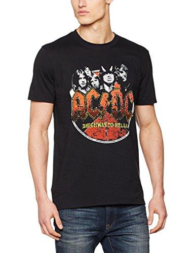 Desconocido AC/DC Highway-Camiseta de, Hombre, Color Negro,...