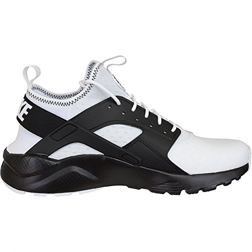 Nike Air Huarache Run Ultra SE hommes, synthétique, sneaker low blanc/noir