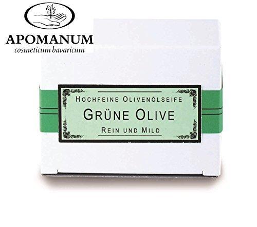 Olives vertes Savon apomanum® fabriqué en Greece (130 g/7,50 Euro = 100 g/5,77 euros) Olive Savon
