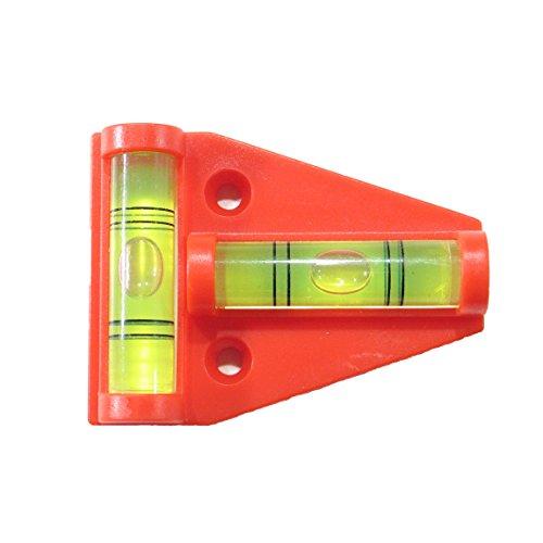 Preisvergleich Produktbild Kreuz-Wasserwaage für Wohnwagen Wohnmobil,  Größe: 57 mm × 43 mm × 13 mm