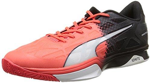 Puma Chaussures evoSpeed Indoor 1.5 rouge fluoblancnoir