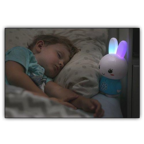 Alilo Honey Bunny Edutainment für Ihr Kind – Mediaplayer – inkl. ausgesuchter Geschichten und Lieder) Babyspielzeug Nachtlicht Einschlafhilfe Storyteller - 6